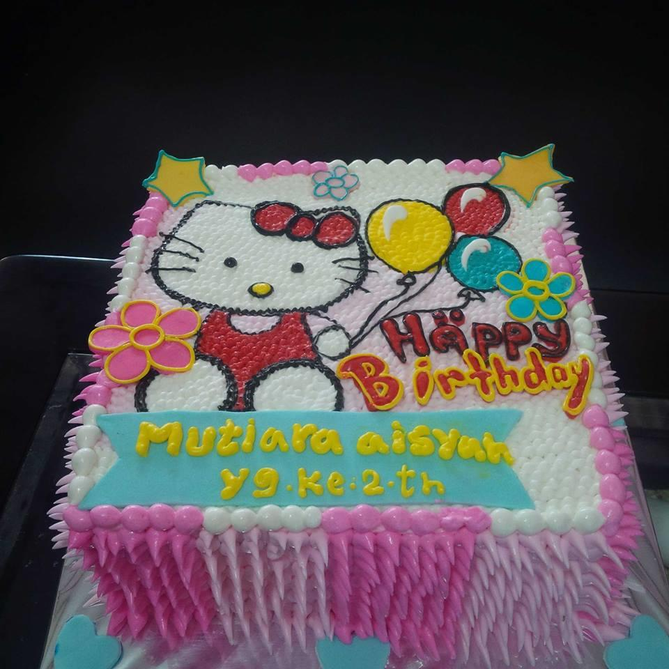Jual Kue Ultah Gambar Hello Kitty Harga Murah Jakarta Oleh