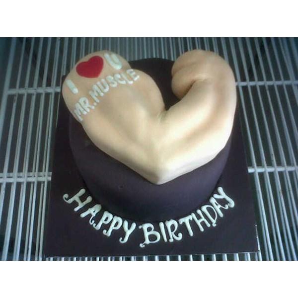 birthday cake bodybuilding