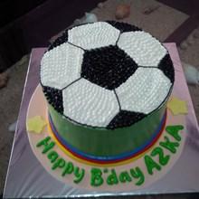 kue gambar bola