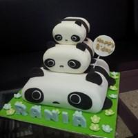 kue ultah panda 1