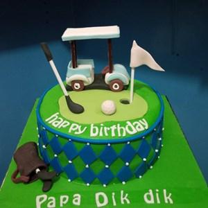 Jual kue ultah golf Harga Murah Jakarta oleh Khena Cake