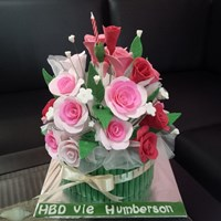 kue buket bunga 1