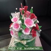kue buket bunga