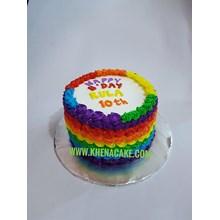 Kue rainbow