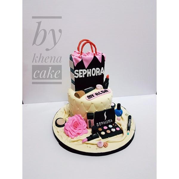 Sephora bag cake