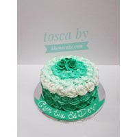 Ombre cake tosca