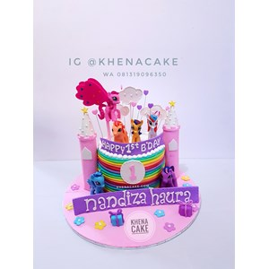 Sell Cake My little pony from Indonesia by Khena CakeCheap Price