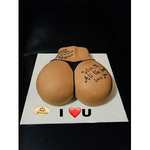 Kue bentuk bokong