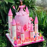 Kue princess tingkat