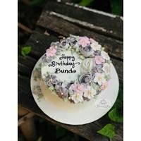 Kue bunga mekar