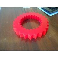 Jual Karet (roda pu-roll pu-coupling pu-cutting pu-seal pu-O Ring pu) polyurethane