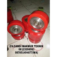 Jual Karet (roda pu-roll pu-coupling pu-cutting pu-seal pu-O Ring pu) polyurethane warna transparan-hijau-kuning-merah-dll
