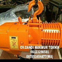 Jual electric chain hoist - wire rope hoist ( ELK - hitachi )