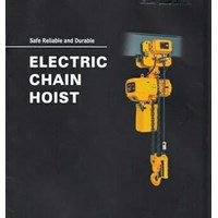 electric chain hoist - wire rope hoist ( ELK - hitachi )