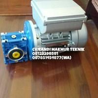 Worm gear motor speed reducer NMRV 030-040-050-063-075-090-110-130-150 (aero-tranz-Motovario- Bonfiglioli - dll) Murah 5