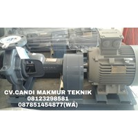 pompa air Ebara centrifugal pump complete with motor terkopel base plate type FS - FSA ( FSG - FSGA - FSH - FSHA - FSJ - FSJA - dll )