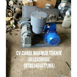 Blower motor Futsu root blower / roots blower TSB 50 -TSB 65 - TSC 80 - TSC 100 -TSD 125 terkopel complete With motor base plate