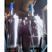suku cadang mesin pembuatan tangki mixer stainless steel - rebon mixer - tangki mixer double jaket - mesin screw - kotingan pen - tangki vacum - tangki super mixer - mesin peras serbaguna - untuk industri makanan dan minuman dlll