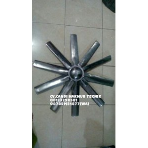 Fan Blades axial fan bahan diral