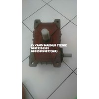 Jual Worm Geared Motor speed reducer WPX 050-060-070-080-100-135-155 2
