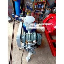 Blower motor Futsu Root Blower / Roots Blower  TSC 80 c/w motor  untuk pengolahan air limbah IPAL dan sirkulasi air tambak