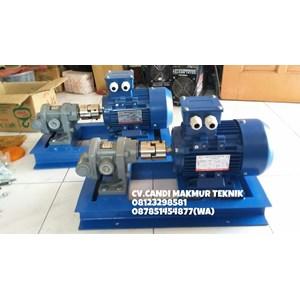 Dari Gear Pump Oriental Koshin GL 20-5 terkopel motor 1 Hp 1