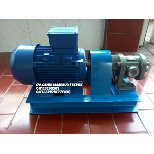 Dari Gear Pump Oriental Koshin GL 20-5 terkopel motor 1 Hp 0