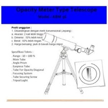 Opacity Meter Type Telescope