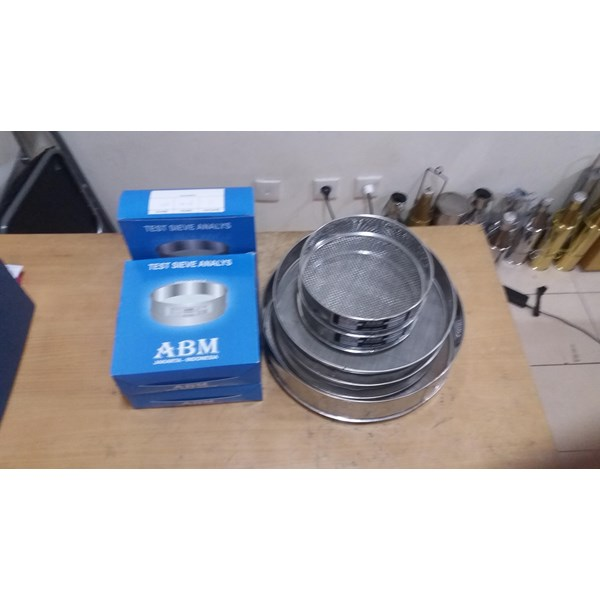 TEST SIEVE ANALYS