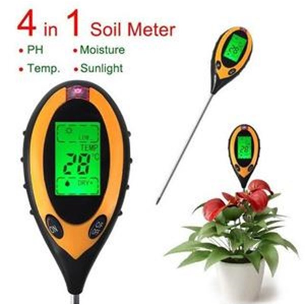 pH soil/tanah Digital 4 in 1 AMT-300
