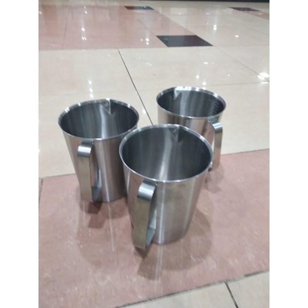 Gelas Beaker stainless steel ABM