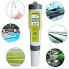 PH EC Temperature Meter EZ Tester ATC EZ Waterproof Temp Suhu Alat Laboratorium Air  1