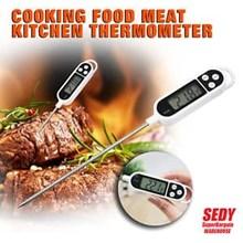 Termometer Air Makanan Minuman Food Thermometer Digital BBQ Susu Oli Alat Laboratorium Umum