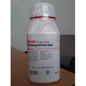 Kimia Farmasi - Simmons Citrate Agar