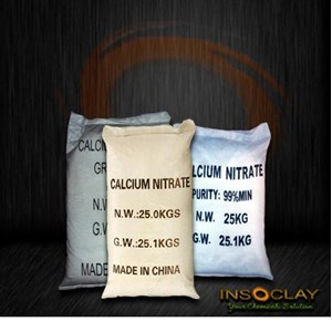 Bahan Kimia Pertanian - Calcium Nitrate Fertilizer