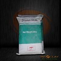 Storage of chemicals-Zirconium Silicate White powder
