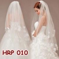 Jual Aksesoris Pengantin Kerudung-HRP 010