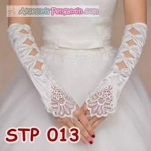 Sarung Tangan Lace Pengantin l Aksesoris Wedding Wanita - STP 013