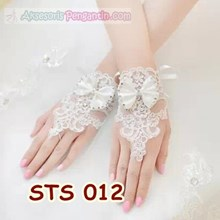 Modern Bridal Gloves Fingerless ladies l Accessori