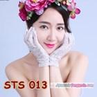 Sarung Tangan Lace Pesta Pendek Pengantin l Aksesoris Wedding- STS 013 3