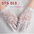 Sarung Tangan Lace Pesta Pendek Pengantin l Aksesoris Wedding- STS 013 2