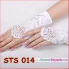 Sarung Tangan Pesta Brokat l Aksesoris Wedding Pengantin Wanita-STS014 2