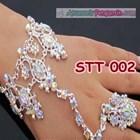 Hiasan Tangan Pesta Wedding l Aksesoris Gelang Pengantin Modern-STT002 4