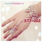 Hiasan Tangan Pesta Wedding l Aksesoris Gelang Pengantin Modern-STT002 1