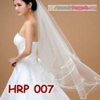 Jual Slayer Pengantin Modern l Aksesoris Kerudung Rambut Wedding - HRP 007