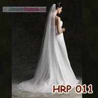 Slayer Pengantin Wanita l Kerudung pesta l Aksesoris Wedding - HRP 011