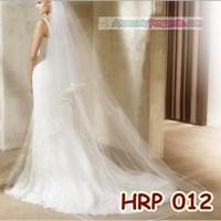 Jual Slayer Pengantin Modern l Kerudung Wedding l Aksesoris Rambut - HRP 012