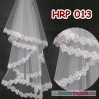 Slayer Pengantin l Kerudung Wedding l Aksesoris Rambut Pesta - HRP 013
