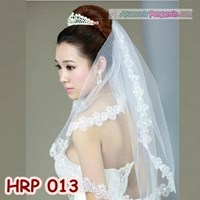 Jual Slayer Pengantin l Kerudung Wedding l Aksesoris Rambut Pesta - HRP 013