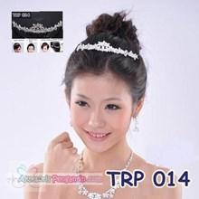 Tiara Rambut Pengantin l Mahkota rambut l Aksesoris Rambut TRP 014